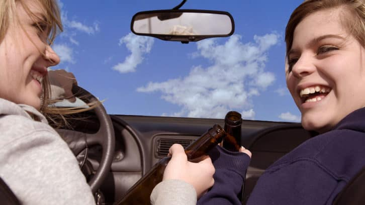don't let your teen drink and drive
